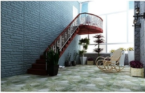 Affordable Home Innovations   Interior Wall Panels   3D Wall Panels for Sale   Stone Glass Mosaic   3D wall panels for sale   Scoop.it