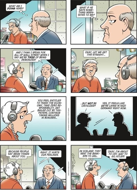 Doonesbury on Bankers | Hidden financial system | Scoop.it