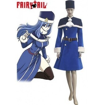 Fairy Tail Rain Woman Juvia Lockser cosplay | cosplay costumes | Scoop.it