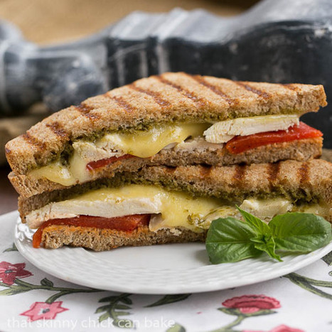 Chicken Pesto Grilled Cheese | Grilled cheese recipe | Food | Scoop.it