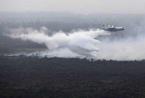 Dois aviões russos a caminho para ajudar no combate aos fogos | Saif al Islam | Scoop.it