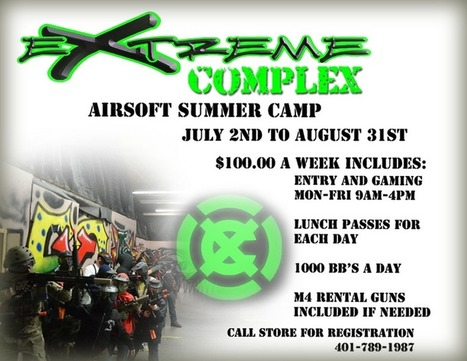 Airsoft Summer Camp - Rhode Island's Extreme Complex | Thumpy's 3D Airsoft & MilSim EVENTS NEWS ™ | Scoop.it