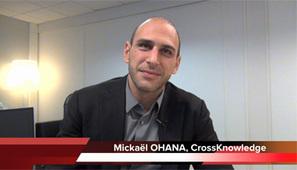 4 min 30 avec Mickaël Ohana, PDG de CrossKnowledge | SIRH : éditeurs et prestataires de service | Scoop.it