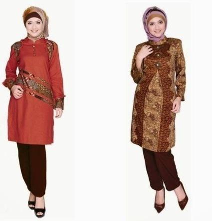Baju Batik Muslim Modern untuk Kerja Kantor | Kumpulan Tips Kecantikan dan Kesehatan | Scoop.it