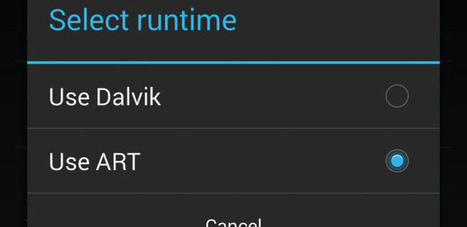 Android 4.4 KitKat cambia su máquina virtual a ART, ¿por qué? | sistema operativo | Scoop.it