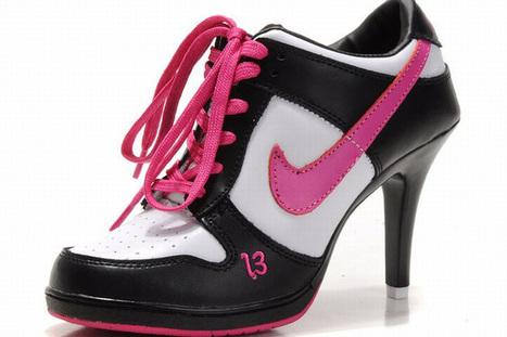 Nike Dunk SB Low Heels Black/White/Pink | popular list | Scoop.it