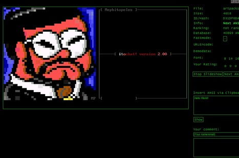 GWT/HTML5 ANSI Art Player | ASCII Art | Scoop.it