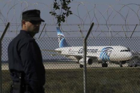 Un avión de Egypt Air  secuestrado aterriza en Chipre - Diario Tánger | Notas56 | Scoop.it