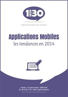 [Livre Blanc] Applications mobiles : les tendances en 2014 | Mobile | Scoop.it