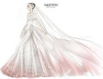 A closer look at Anne Hathaway's Valentino wedding dress - Telegraph | Dresses | Scoop.it