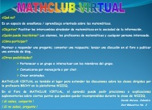 MATHCLUB VIRTUAL - Red de Estudiantes y Docentes apasionados por las Matemáticas | Recull diari | Scoop.it