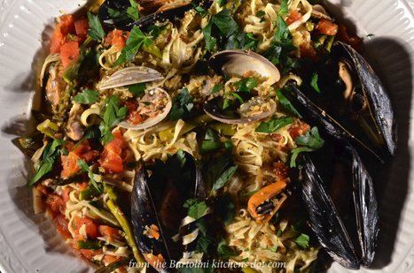 Trenette with Mussels and Clams | Le Marche and Food | Scoop.it