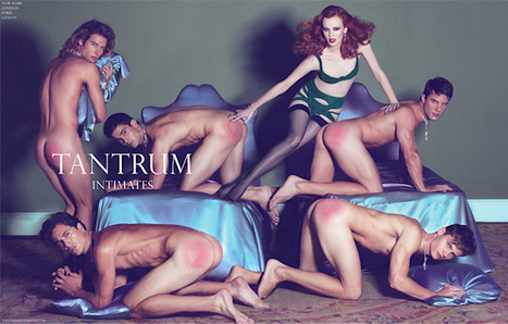 Spanked Male Models for W Magazine - Viki Secrets | JIMIPARADISE! | Scoop.it