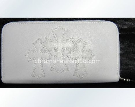 White Chrome Hearts Three Cross Leather Wallet on Sale [CH #ch2301] - $368.00 : Cheap Chrome Hearts | Chrome Hearts Online Store | Tayler Kula | Scoop.it