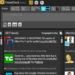 How To Revert To The Old Version Of Tweetdeck If You Don't Like The New Version | Educatief Internet | Scoop.it