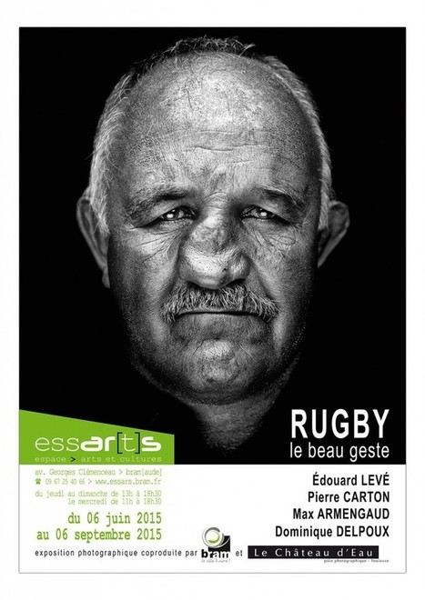 Rugby, le beau geste | Exposition Photographie | Scoop.it