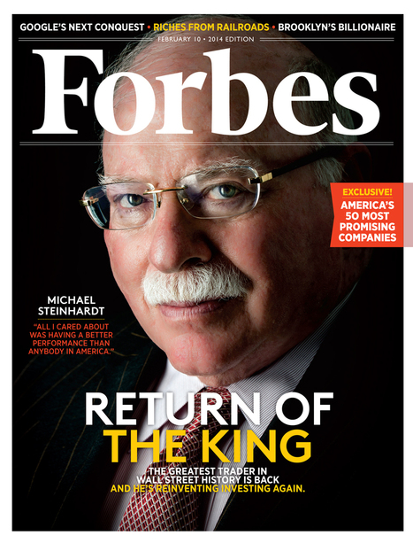 Michael Steinhardt, Wall Street's Greatest Trader, Is Back -- And He's ... - Forbes | Harry's Place | Scoop.it