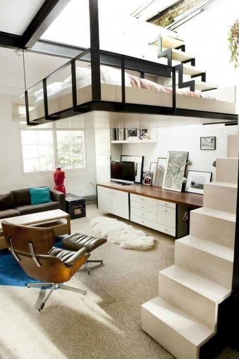 5 mẫu giường đẹp hoàn hảo cho căn hộ mini | Noi that | Scoop.it