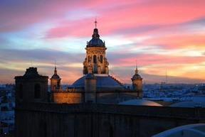 Sunset in the beautiful #baroque #Seville #Spain   Baroque   Scoop.it