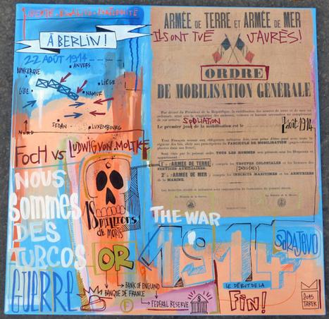 The war by Tarek | The art of Tarek | Scoop.it