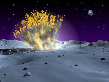 NASA Announces Brightest Lunar Explosion Ever Recorded | Physics | Scoop.it