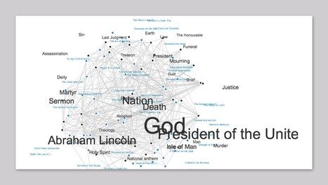 Lincoln #Logarithms: Finding Meaning in Sermons | #dataviz #sna #DH | e-Xploration | Scoop.it