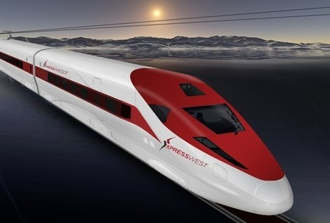"""China Railway International U.S.A. CO., LTD., And XpressWest To Develop Nevada - California Interstate High-Speed Passenger Rail System   """"green business""""   Scoop.it"""