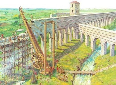 Polyspastos, las grúas de Roma | LVDVS CHIRONIS 3.0 | Scoop.it