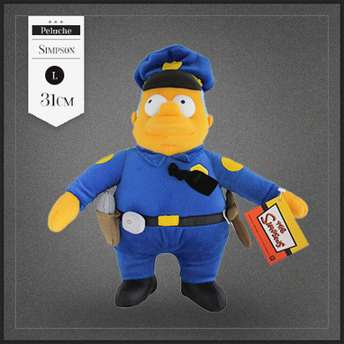 Peluche Chef Wiggum police des Simpson | Boutique Muku | Scoop.it