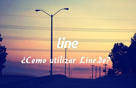 How to use Line.do [Spanish]   Line.do - An easy-to-use and free timeline tool   Moodle and Web 2.0   Scoop.it