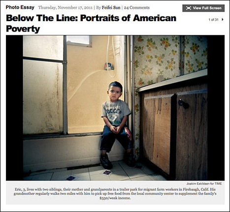 Portraits of American Poverty in TIME Magazine - Bread Blog | Sustainable Futures | Scoop.it