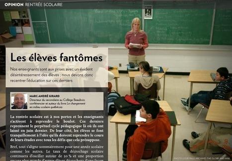 Rentrée scolaire: les élèves fantômes - LaPresse+ | j'men cris | Scoop.it