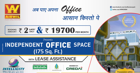 Airwil Intellicity Low Rise Independent Office Spaces in Noida | Airwil Intellicity | Scoop.it