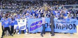 San Mig Coffee Mixers capture PH Cup crown | Philippine Basketball Association at its finest | Scoop.it