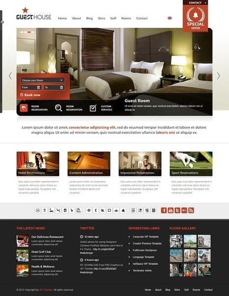 Temi Wordpress per B&B | ALBERTO CORRERA - QUADRI E DIRIGENTI TURISMO IN ITALIA | Scoop.it