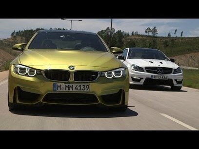 Performance coupes go head-to-head: BMW M4 vs. Mercedes-Benz C63 AMG | Best Personal Development | Scoop.it