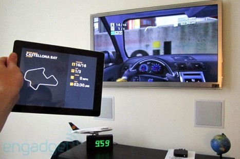 Dual Screen AirPlay Gaming Demo with Real Racing 2 HD - Mac Rumors | Richard Kastelein on Second Screen, Social TV, Connected TV, Transmedia and Future of TV | Scoop.it