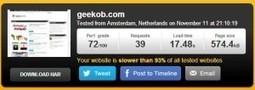 5 outils pour vérifier la vitesse de chargement d'un site | Going social | Scoop.it