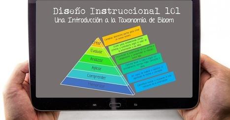 Una Introducción a la Taxonomía de Bloom para Diseñadores Instruccionales. #elearning #edtech | E-Learning, Formación, Aprendizaje y Gestión del Conocimiento con TIC en pequeñas dosis. | Scoop.it
