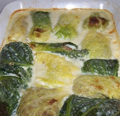 Les feuilles de choux farcies | culinaire | Scoop.it