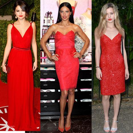 Lea Seydoux, Miranda Kerr, Paris Hilton : toutes accros à la petite robe rouge : La tendance à suivre ! - Mode Plurielles.fr | mode | Scoop.it