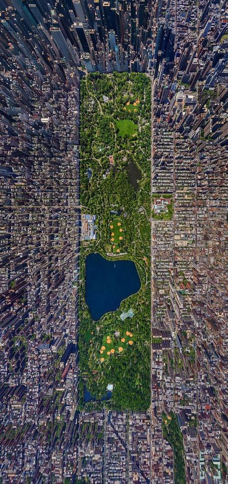 Incredible 3D Aerial Panorama of Central Park - My Modern Metropolis | Photographier le monde | Scoop.it