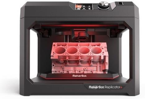 Makerbot revient avec deux nouvelles imprimantes 3D ! | FabLab - DIY - 3D printing- Maker | Scoop.it