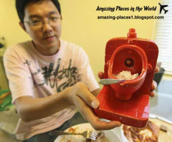 Amazing Places: Amazing Chines toilet restaurant of the weirdest restaurants in China | Amazing places | Scoop.it