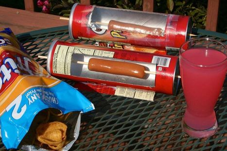 How-To: Solar Hot Dog Cooker From A Pringles Can | Maker Lessons & Activities | Scoop.it
