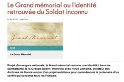 Registres matricules : le Grand Mémorial sera lancé le 11 novembre | En remontant le temps | Scoop.it