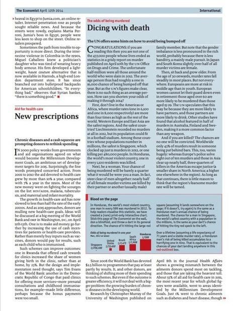 The Economist et ses infographies interactives d'un nouveau genre | Webmarketing & Content marketing | Scoop.it