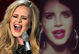It's Adele vs. Lana Del Rey at the 2014 Grammys as 'Skyfall' and 'Gatsby' face off - HitFix | Lana Del Rey - Lizzy Grant | Scoop.it
