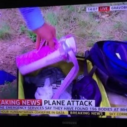 Sky News Reporter Goes Looting Through Malaysia Airlines Flight 17 Luggage (for News) - PRNewser | Public Relations & Social Media Insight | Scoop.it