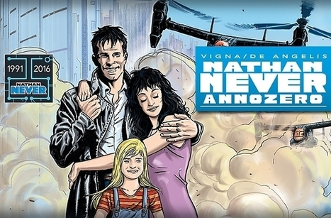 From our continental correspondent - 25 years of Nathan Never - Forbidden Planet Blog | F_C | Scoop.it